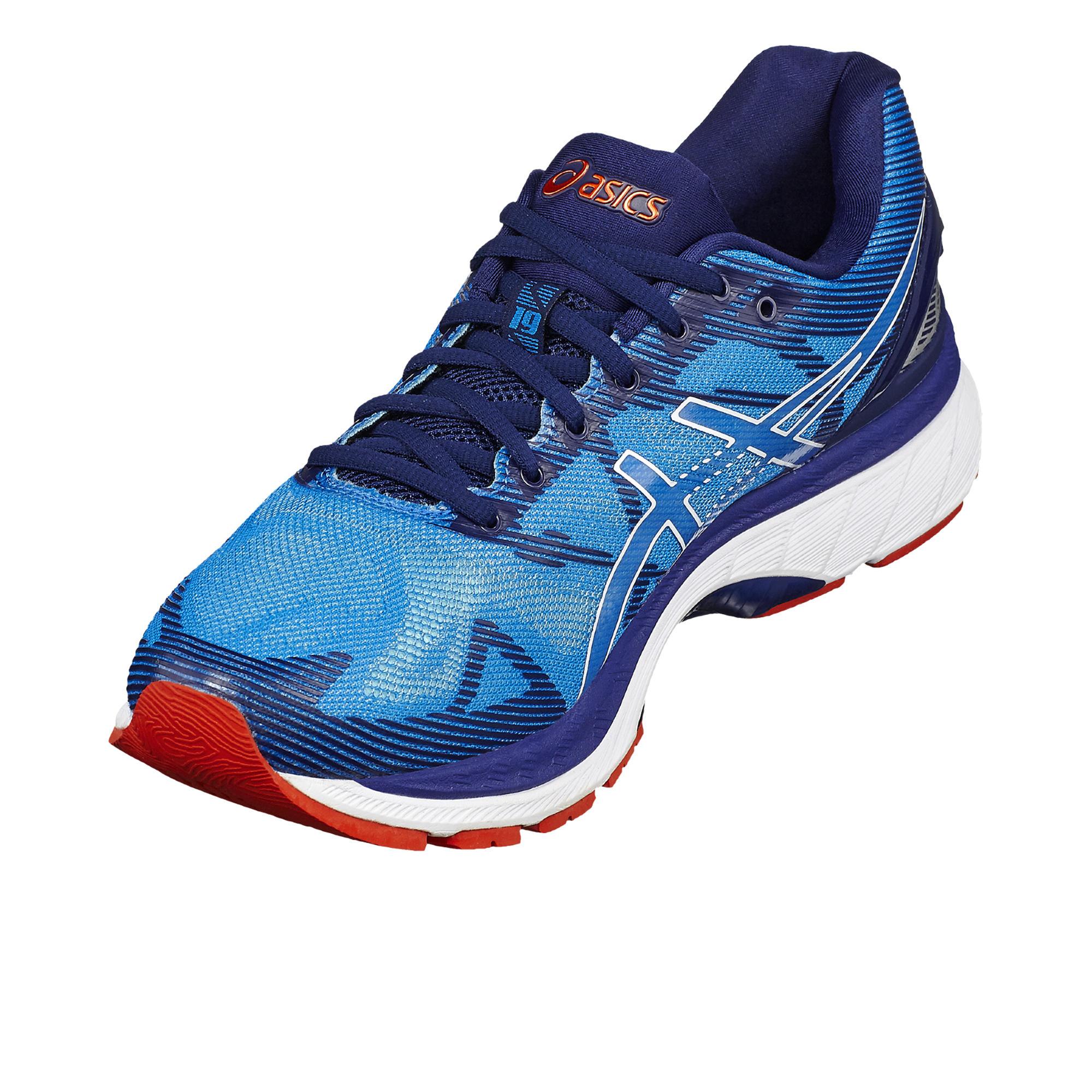 Gel 19 Chaussures Bleu Asics Nimbus Running Homme JcK1TlF3