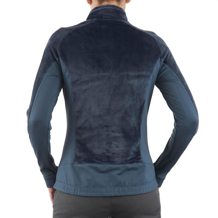 Hybridjacke Winterwandern SH900 X-Warm Damen blau