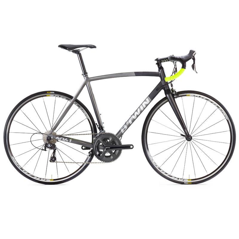 Ultra 900 Aluminum Frame Road Bike - Black/Grey/Yellow