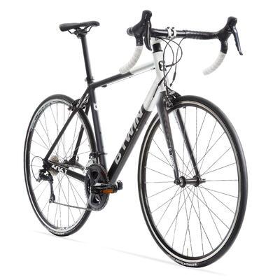 دراجة طرق Triban Cyclotourism 520 - أسود/ أبيض