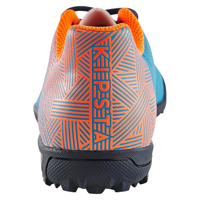 Chaussure de football enfant terrains durs CLR 500 HG bleue - 1180036
