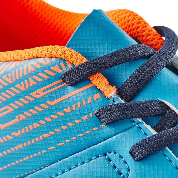 Chaussure de football enfant terrains durs CLR 500 HG bleue - 1180039