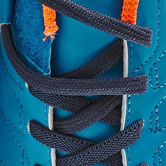 Chaussure de football enfant terrains durs Agility  300 HG à scratch bleue - 1180054