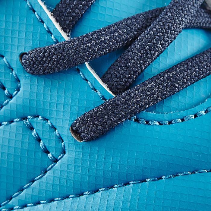 Chaussure de football enfant terrains durs Agility  300 HG à scratch bleue - 1180055