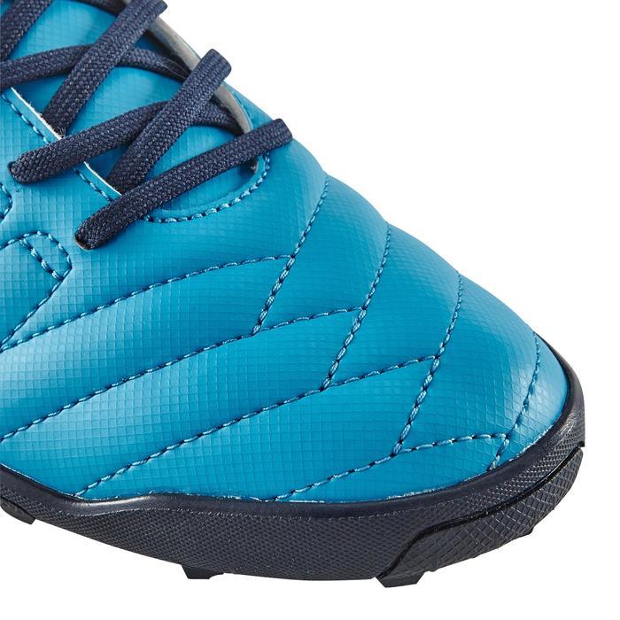 Chaussure de football enfant terrains durs Agility  300 HG à scratch bleue - 1180056