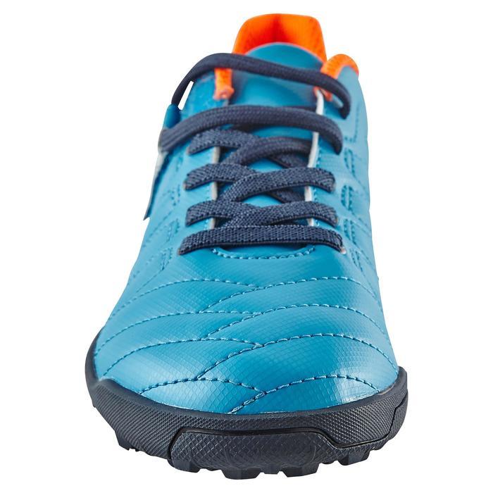 Chaussure de football enfant terrains durs Agility  300 HG à scratch bleue - 1180058