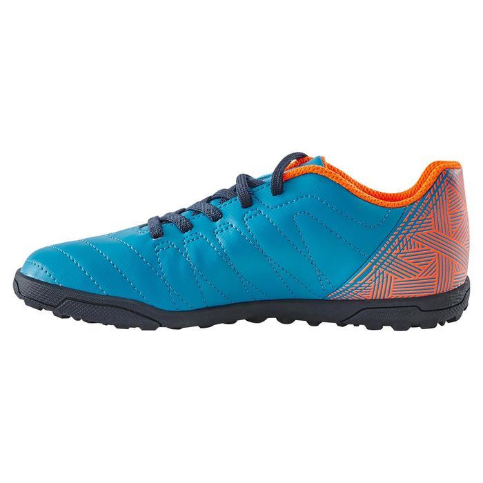 Chaussure de football enfant terrains durs Agility  300 HG à scratch bleue - 1180060