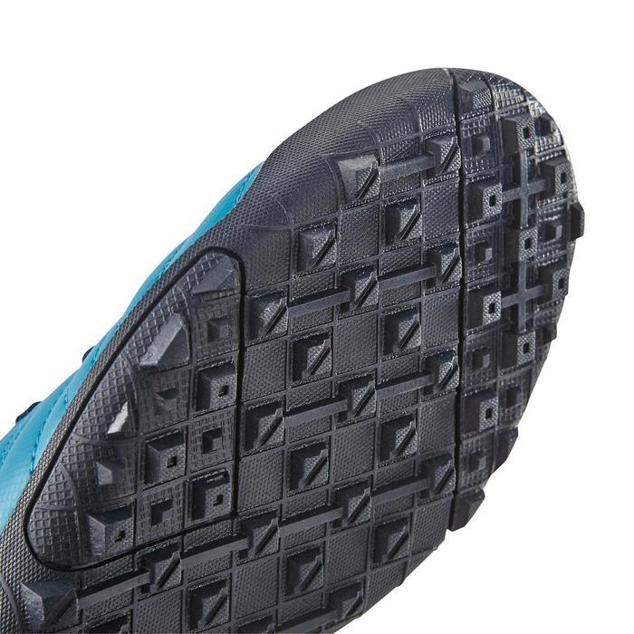 Chaussure de football enfant terrains durs Agility  300 HG à scratch bleue - 1180061