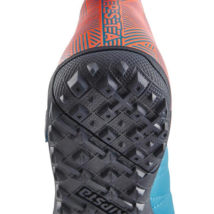 Chaussure de football enfant terrains durs Agility  300 HG à scratch bleue - 1180062
