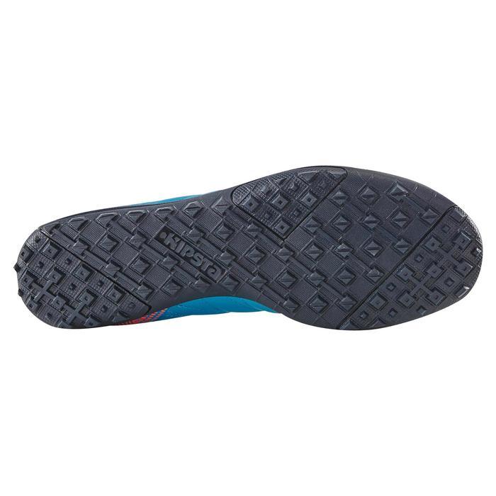 Chaussure de football enfant terrains durs Agility  300 HG à scratch bleue - 1180063