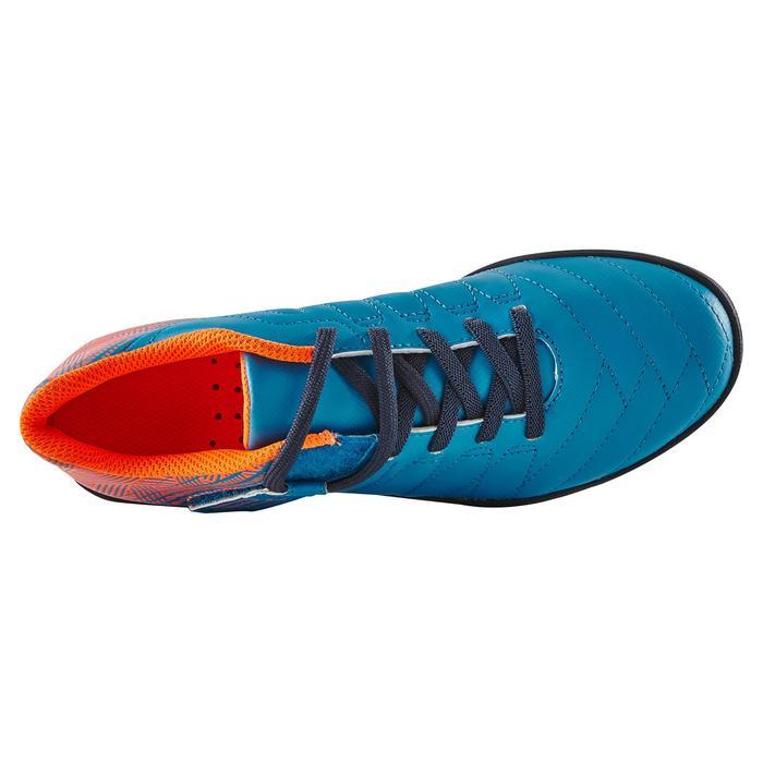 Chaussure de football enfant terrains durs Agility  300 HG à scratch bleue - 1180065
