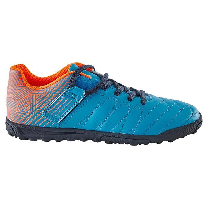 Chaussure de football enfant terrains durs Agility  300 HG à scratch bleue - 1180066
