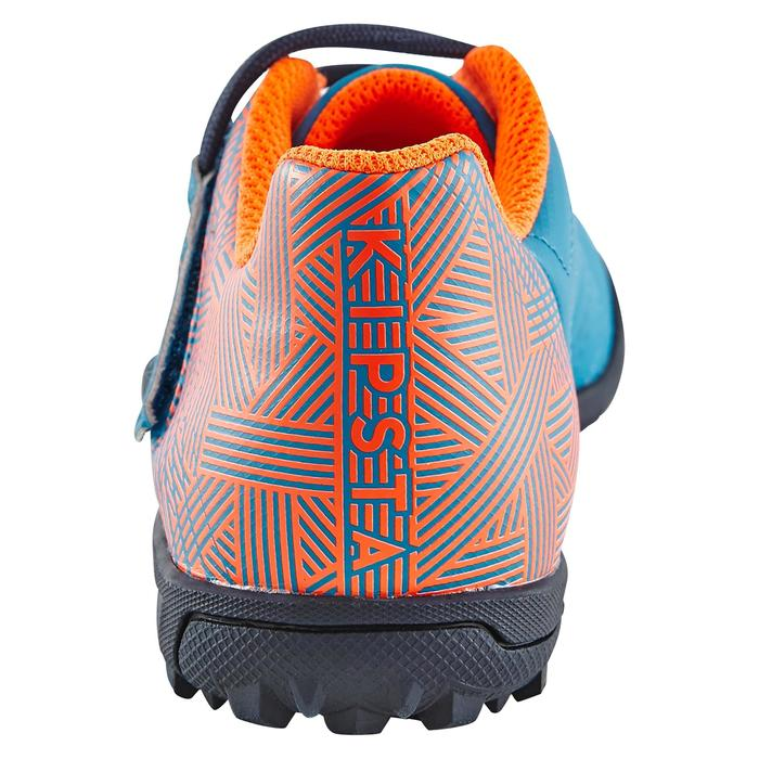 Chaussure de football enfant terrains durs Agility  300 HG à scratch bleue - 1180067