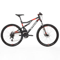 "Mountainbike MTB Rockrider 520 S 27,5"" grau"