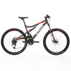 "Mountainbike MTB Rockrider 520 S 27,5"" grau"