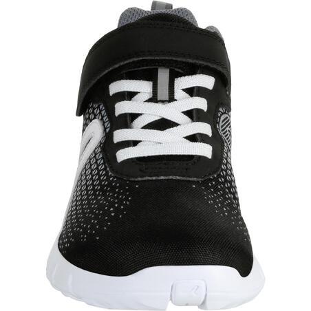 Soft 140 kids' walking shoes black/white