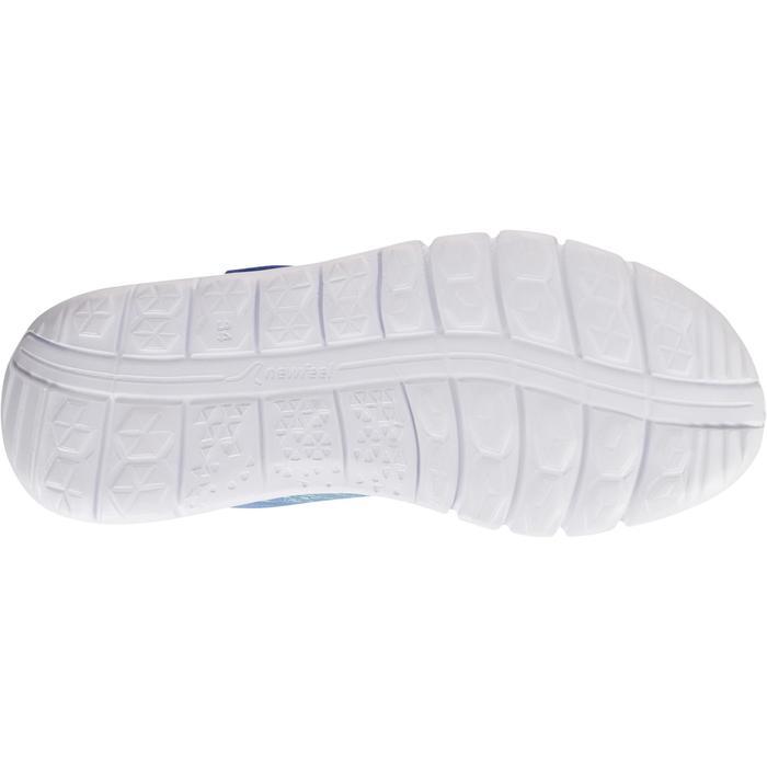 Zapatillas de marcha deportiva para niños Soft 140 azul / turquesa