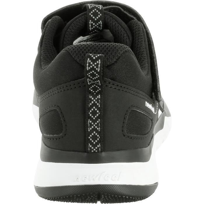 Sportschuhe Walking PW 540 Kinder schwarz/weiß