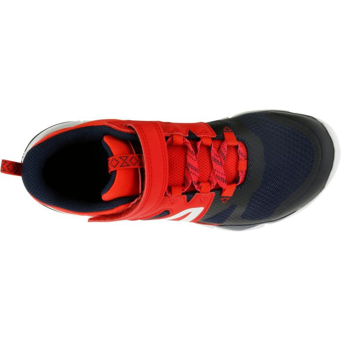 Walkingschuhe PW 540 Kinder rot/dunkelblau