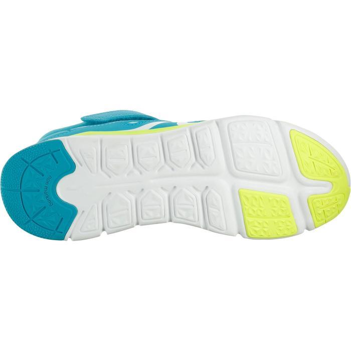 Kindersneakers voor sportief wandelen PW 540 turquoise