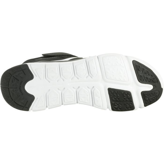 Sportschuhe Klettverschluss PW 540 Kinder schwarz/weiß