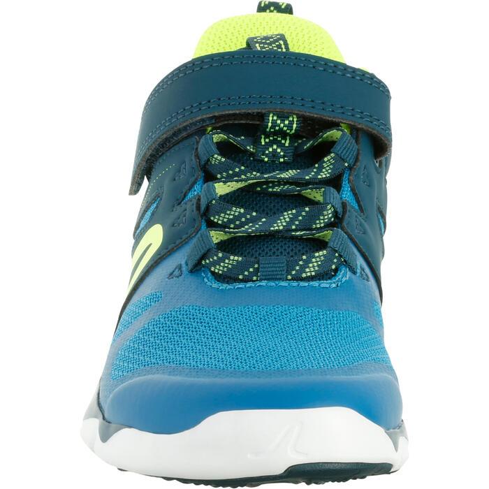 Zapatillas marcha deportiva niños PW 540 azul / verde
