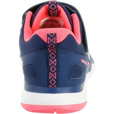 נעלי הליכה ספורטיביות לילדים דגם PW 540 - אפור/כחול/ורוד