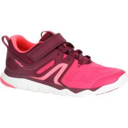Zapatillas de Marcha Deportiva Newfeel PW 540 niña rosa y violeta