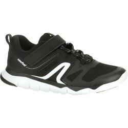 PW 540 Children's Fitness Walking Shoes - Black/White