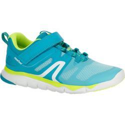 PW 540 兒童健身步行運動鞋 - 藍色/綠色