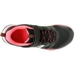 Sportschuhe Klettverschluss PW 540 Kinder schwarz/rosa