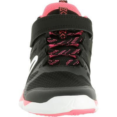 Дитячі кросівки PW 540 для спортивної ходьби - Чорні/Рожеві
