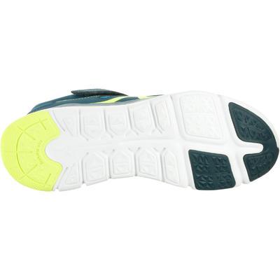 נעלי הליכה ספורטיביות לילדים דגם PW 540 - כחול/ירוק