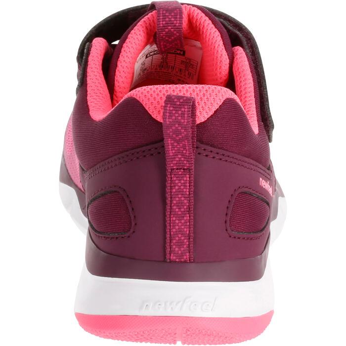 Sportschuhe Klettverschluss PW 540 Kinder pink/violett