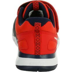 Kindersneakers voor wandelen en sport op school PW 540 marineblauw / rood