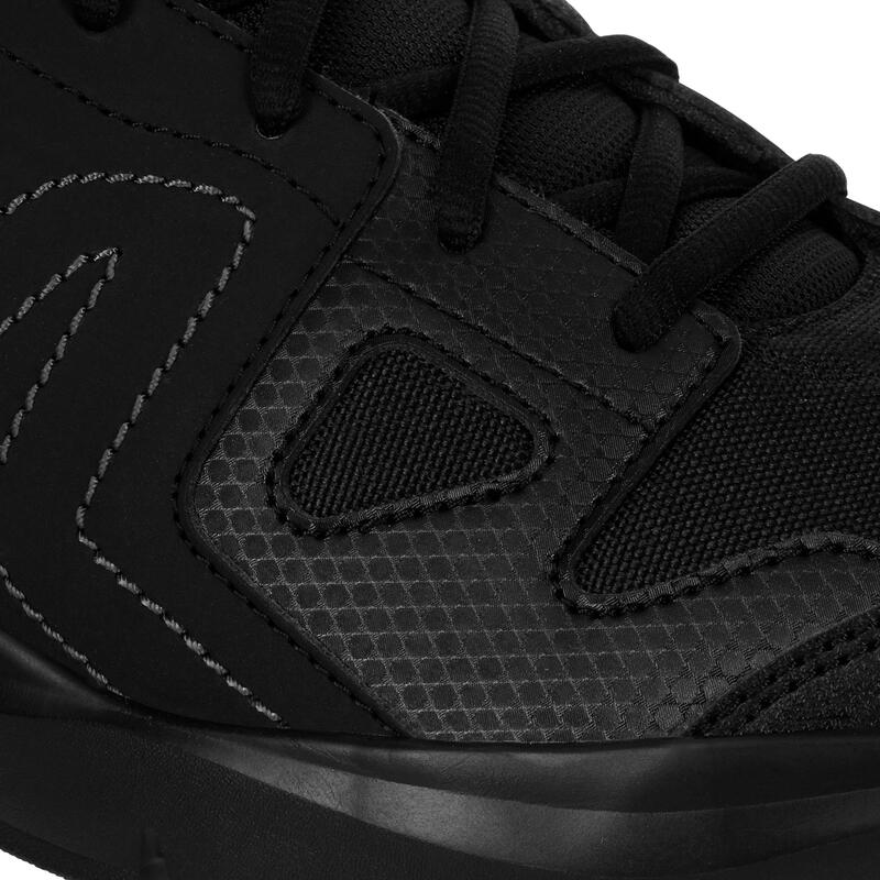 HW 100 Men's Fitness Walking Shoes - Black