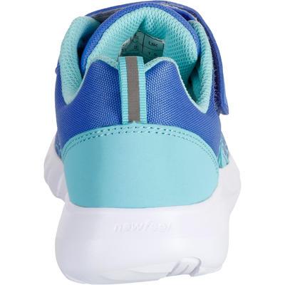 נעלי הליכה ספורטיביות לילדים דגם Soft 140 - כחול/טורקיז