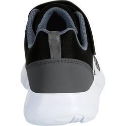 Kindersneakers voor wandelen Soft 140 zwart/wit