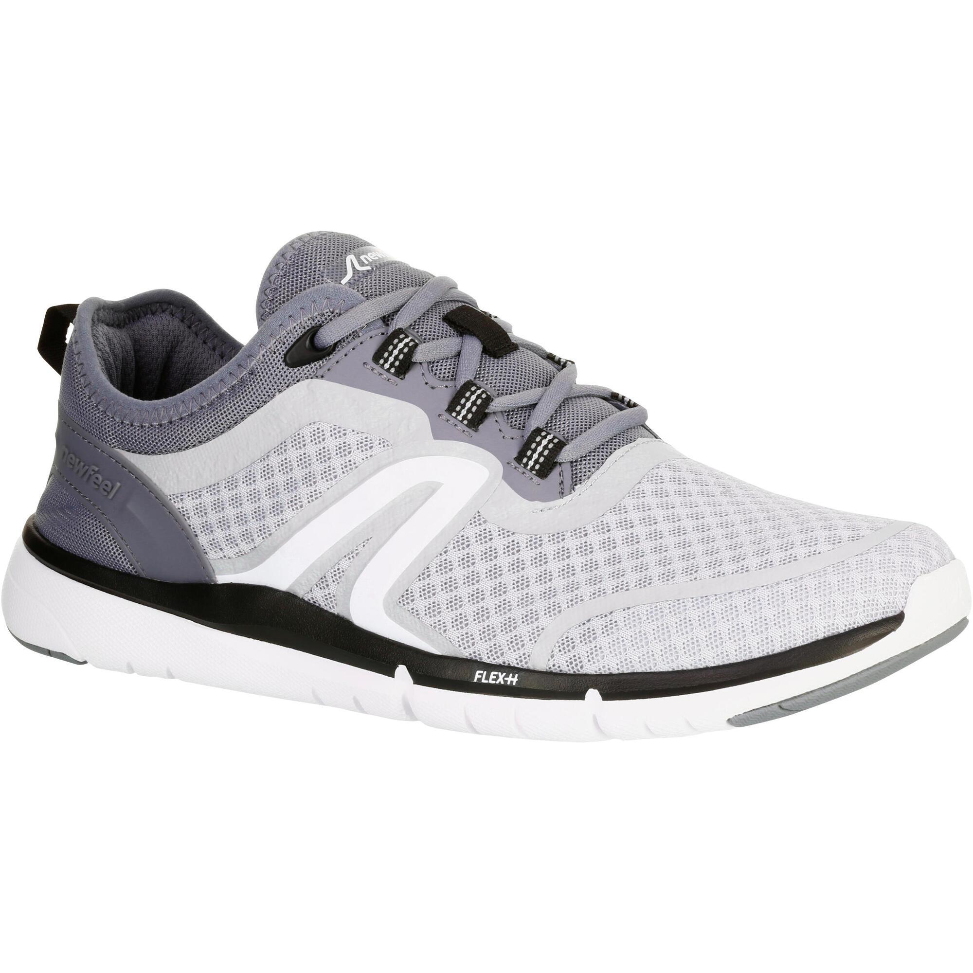 chaussures marche sportive homme soft 540 mesh gris newfeel. Black Bedroom Furniture Sets. Home Design Ideas