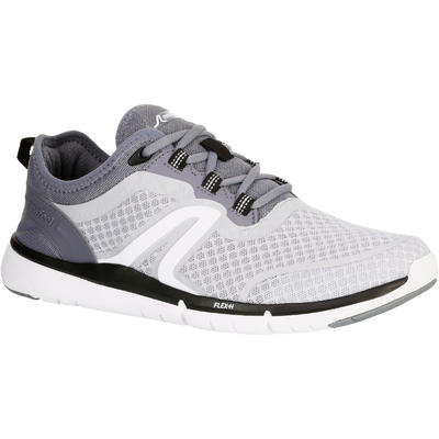 Chaussures marche sportive homme Soft 540 Mesh gris