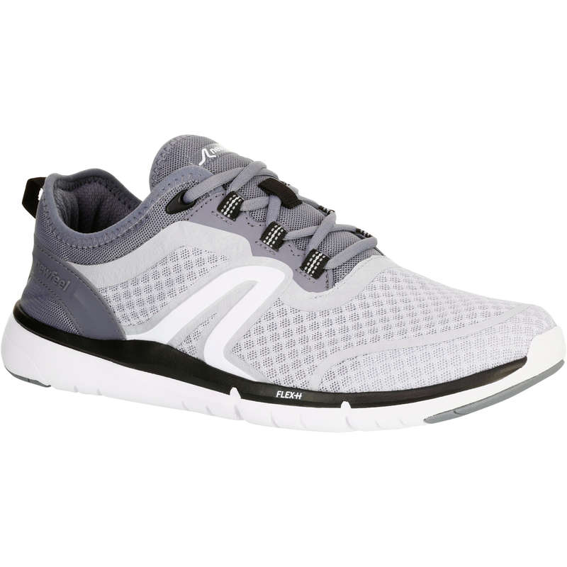 MEN SPORT WALKING SHOES - Soft 540 Mesh grey NEWFEEL
