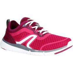 女款網眼健走鞋Soft 540-粉紅色/紫色
