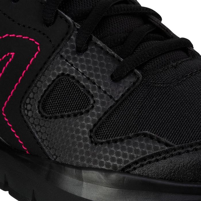 Chaussures marche active femme HW 100 noir / rose