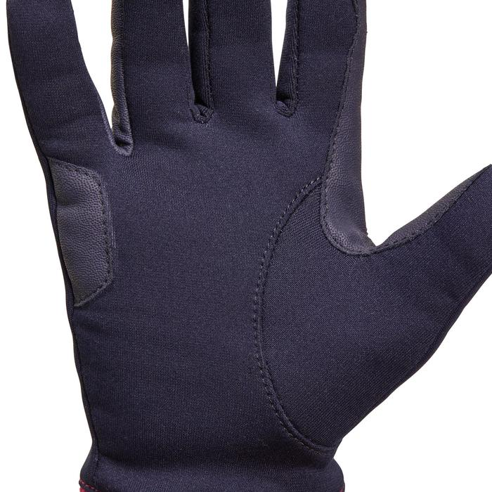 Thermo-Reithandschuhe Easywear Kinder blau