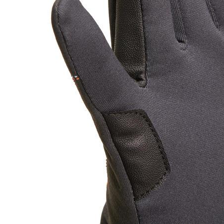Easywear Children's Warm Horse Riding Gloves - Grey
