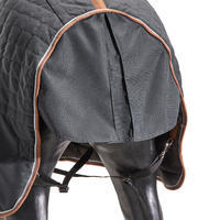 ST400 Horseback Riding Stable Blanket for Horses and Ponies - Dark Grey
