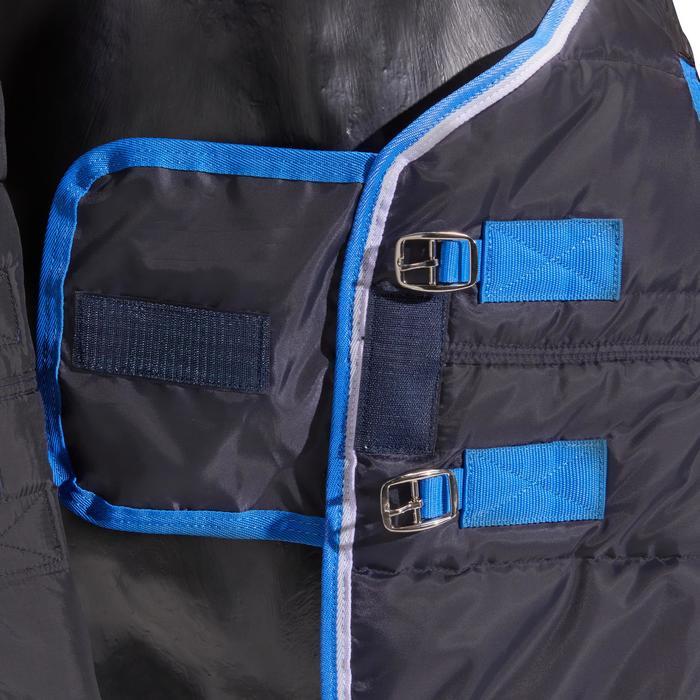 Couverture écurie équitation cheval et poney ST200 bleu marine