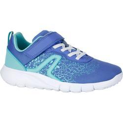 Kindersneakers voor sportief wandelen Soft 140 blauw / turquoise