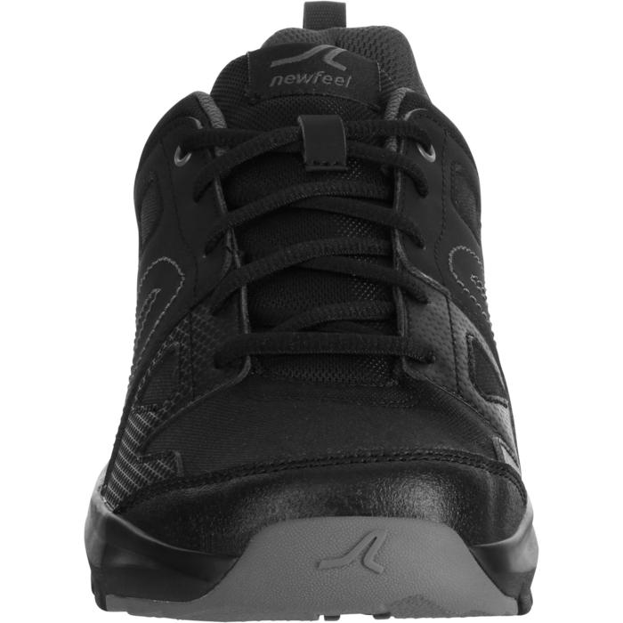 Zapatillas de marcha deportiva para hombre HW 100 negro