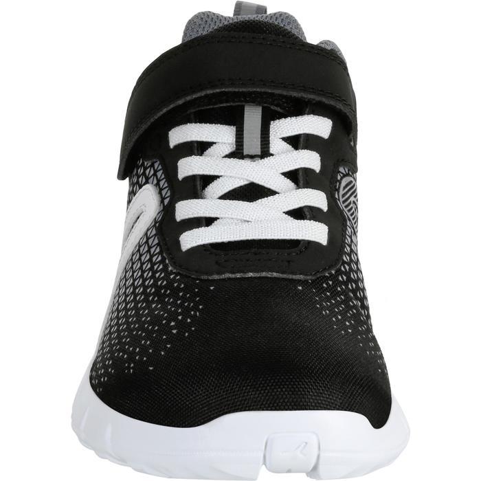 Kindersneakers voor wandelen en sport op school Soft 140 zwart